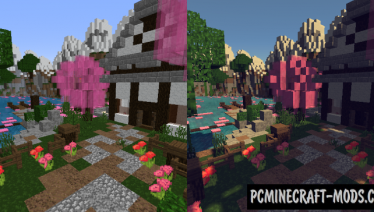 PixaGraph 16x16 Resource Pack For Minecraft 1.14.4, 1.14.3