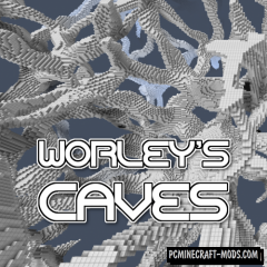 Worley's Caves - Generation Mod For Minecraft 1.15.2, 1.14.4