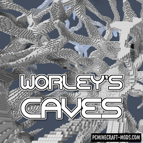 Worley's Caves Mod For Minecraft 1.12.2, 1.10.2
