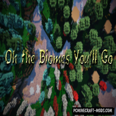 Oh The Biomes You'll Go - New Biomes Mod MC 1.16.5, 1.12.2