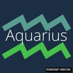 Aquarius - Magic, Weapons Mod For Minecraft 1.16.2, 1.15.2