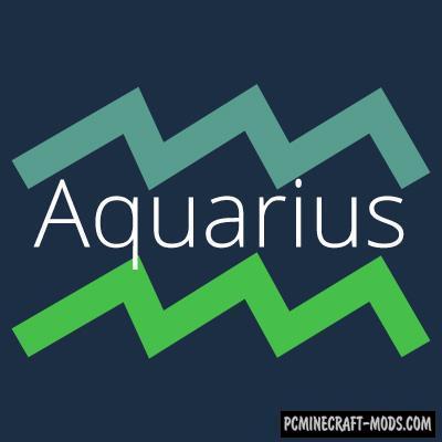 Aquarius - Magic, Weapons Mod For Minecraft 1.16.5, 1.16.4