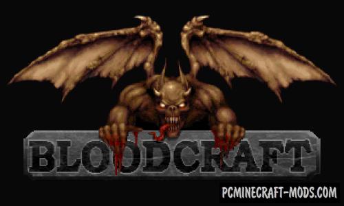 BloodCraft Resource Pack For Minecraft 1.14, 1.13, 1.12.2