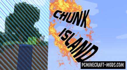 Chunk Island! Map For Minecraft 1.13