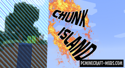 Chunk Island! Map For Minecraft 1.13