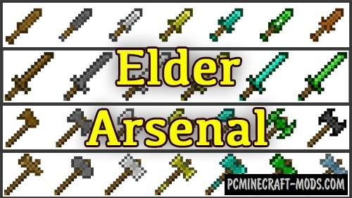 Elder Arsenal Mod For Minecraft 1.12.2
