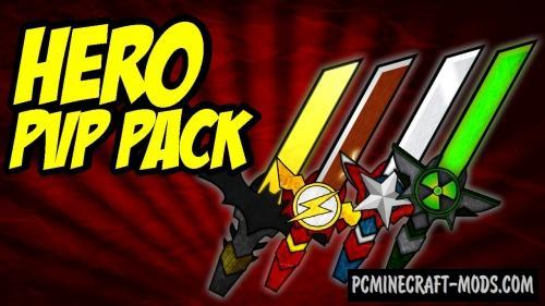 Hero PvP Resource Pack For Minecraft 1.12.2, 1.11.2