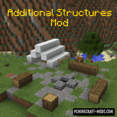 Additional Structures - Biomes Update Mod For Minecraft 1.12.2