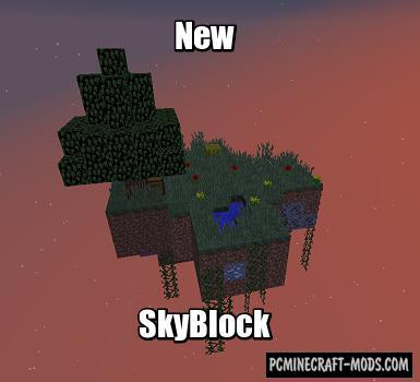 New SkyBlock Map For Minecraft
