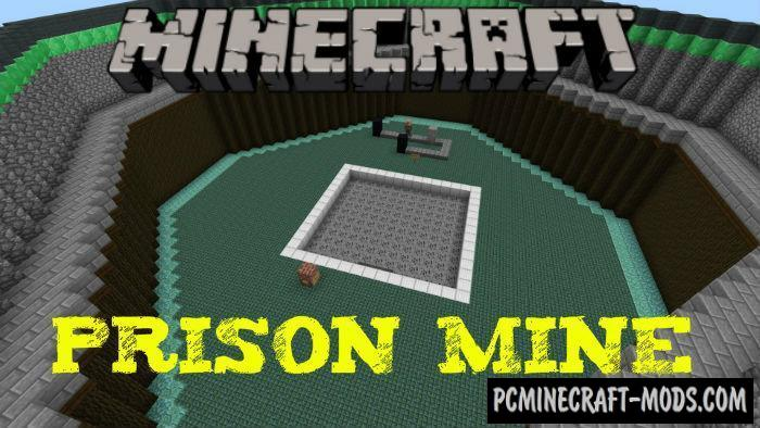 Prison Mine Minecraft PE Map For iOS/Android 1.9, 1.8, 1.7