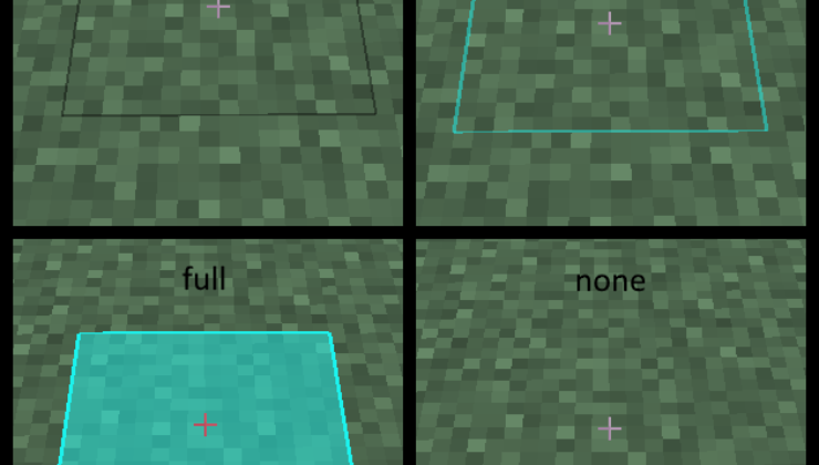 Fancy Block Overlay Mod For Minecraft 1.12.2