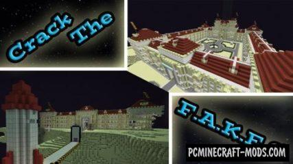 Crack The F.A.K.E.S! Map For Minecraft