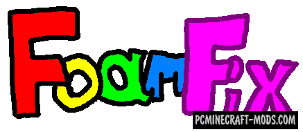 FoamFix - RAM Optimize Mod For Minecraft 1.14.4, 1.12.2