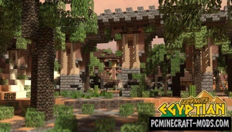 Leefnut`s Mini Egypt Map For Minecraft