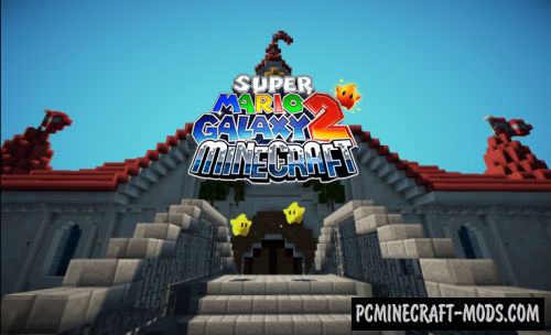 Super Mario Galaxy 2 Map For Minecraft