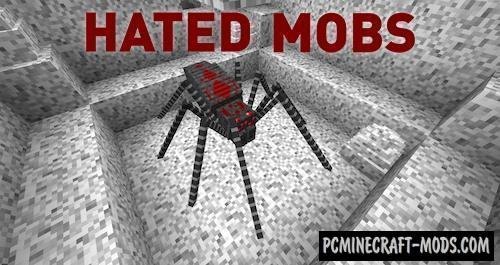 Hated Mobs - New Mobs Mod For Minecraft 1.12.2