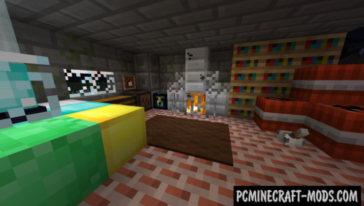 Pixel-8 Resource Pack For Minecraft 1.12.2