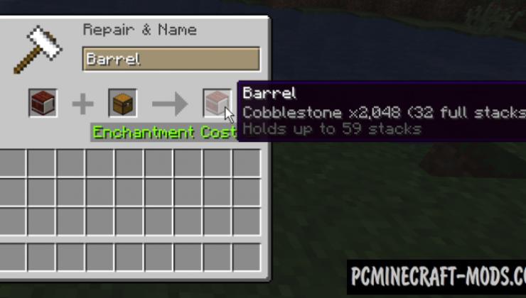 Stockpile Mod For Minecraft 1.13