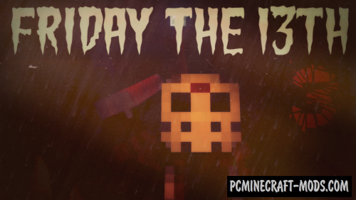 Friday the 13th 3 Map For Minecraft