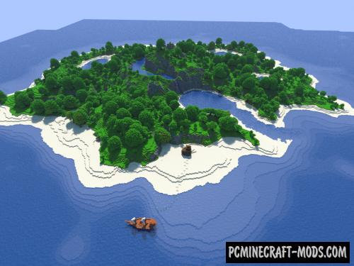 Island of Sabiju Map For Minecraft