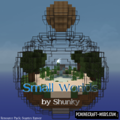 Small Worlds Map For Minecraft