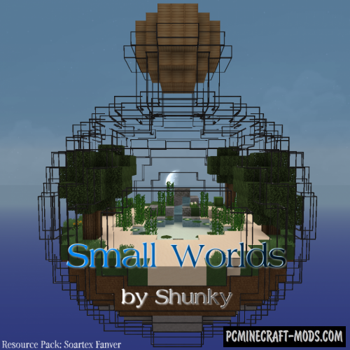Small Worlds Map For Minecraft 1 15, 1 14 4 | PC Java Mods