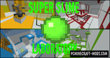 Super Slime Lab Map For Minecraft