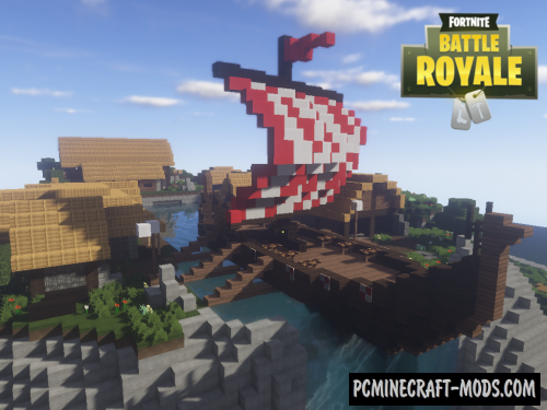 Fortnite Viking Village Map For Minecraft