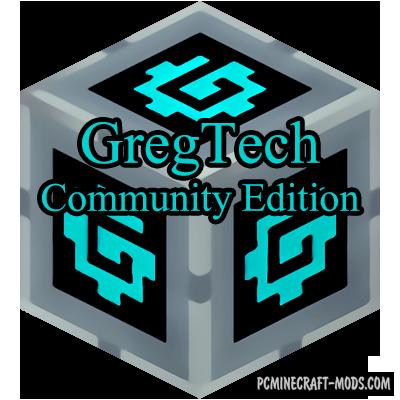 GregTech Community Edition - Industrial Mod For MC 1.12.2