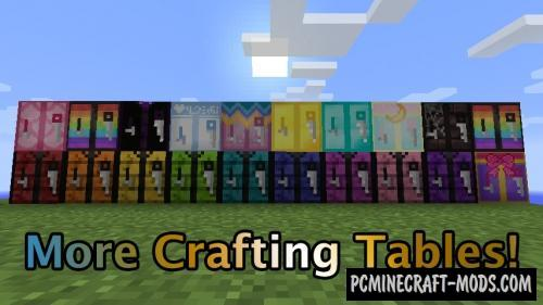 More Crafting Tables! Mod For Minecraft 1.12.2