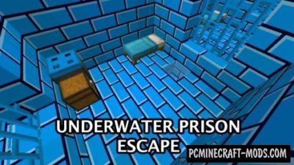 Underwater Prison Escape Map For Minecraft