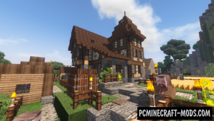 Winthor Medieval Resource Pack For Minecraft 1.15, 1.14.4