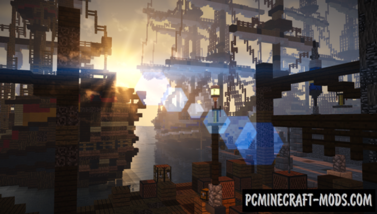 City of Estellida Map For Minecraft