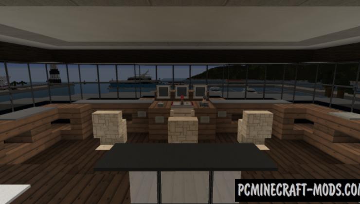 Superyacht Rhodium Map For Minecraft
