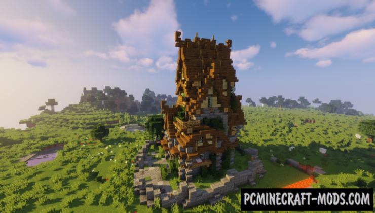 Medium Medieval House Map For Minecraft