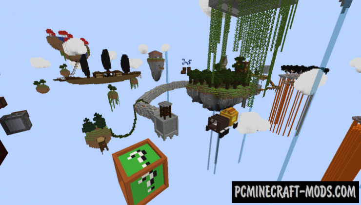 SkyRogue Map For Minecraft