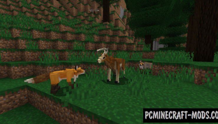 Better Animals Plus Mod For Minecraft 1.13.2, 1.12.2