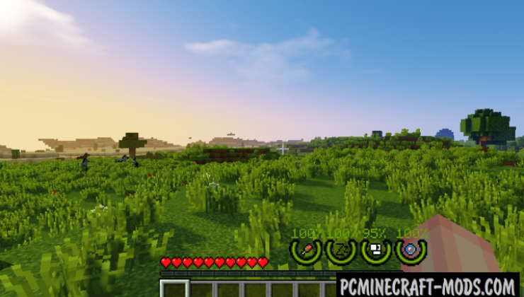 RealSurvivor - Info HUD Mod For Minecraft 1.14.4, 1.12.2