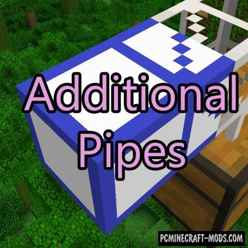 Additional Pipes Mod For Minecraft 1.12.2, 1.8.9, 1.7.10