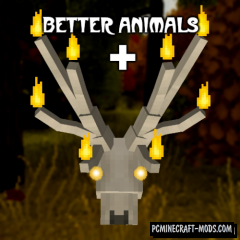 Better Animals Plus - More Mobs Mod MC 1.15.2, 1.14.4