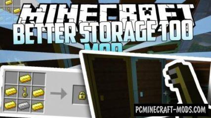 Better Storage Too - Inv Tweak Mod For Minecraft 1.16.5, 1.15.2, 1.14.4