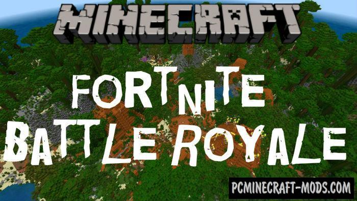 Fortnite Battle Royale Map Locations For Minecraft PE 1.9, 1.8, 1.7