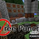Punch Wool Off Sheep Mod For Minecraft 1.12.2