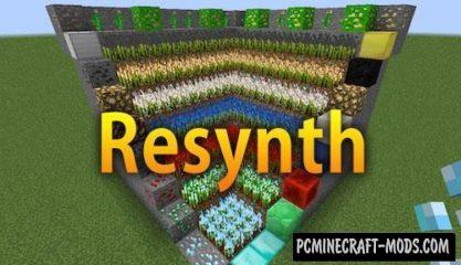 Resynth - Ore Farming Mod For Minecraft 1.15.2, 1.14.4
