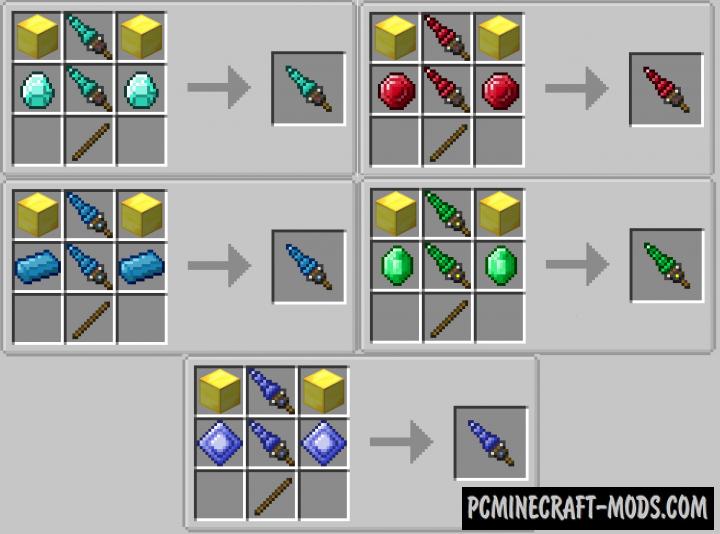 Simple Mining Drills Mod For Minecraft 1.12.2