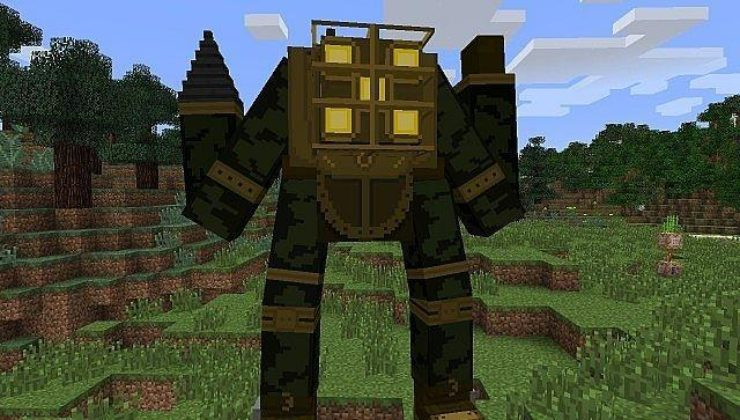 Bioshock Mod For Minecraft 1.7.10