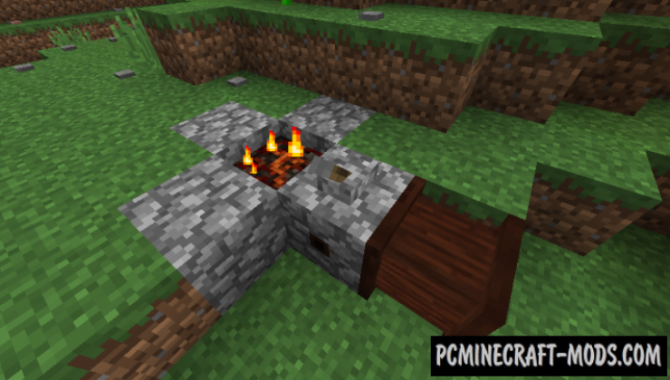 No Tree Punching Mod For Minecraft 1.12.2