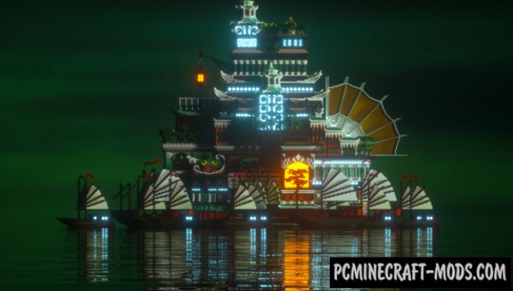 Heaven's Fleet Map For Minecraft