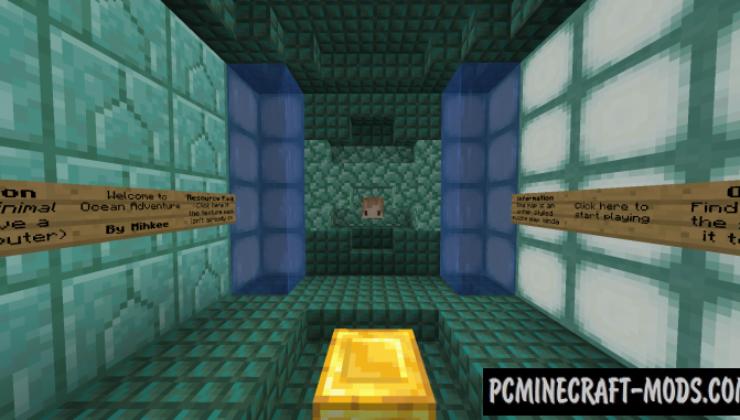 Unfair Ocean Map For Minecraft