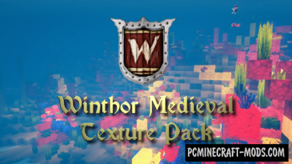 Winthor Medieval 64x Resource Pack For MC 1.16, 1.15.2, 1.14.4